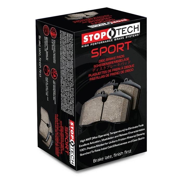 StopTech Sport Rear Brake Pads for the Honda S2000, Civic Si (FG) & Acura RSX-S