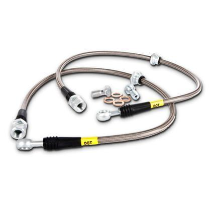 StopTech Stainless Steel Brake Lines (Rear) - 370Z Base