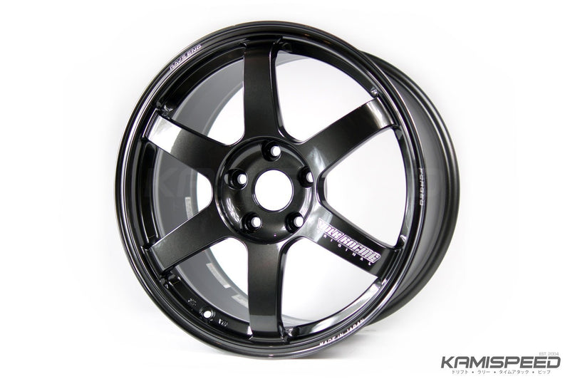 Volk Racing TE37 Saga 17x9.5 5-114.3 +22 Diamond Dark Gunmetal