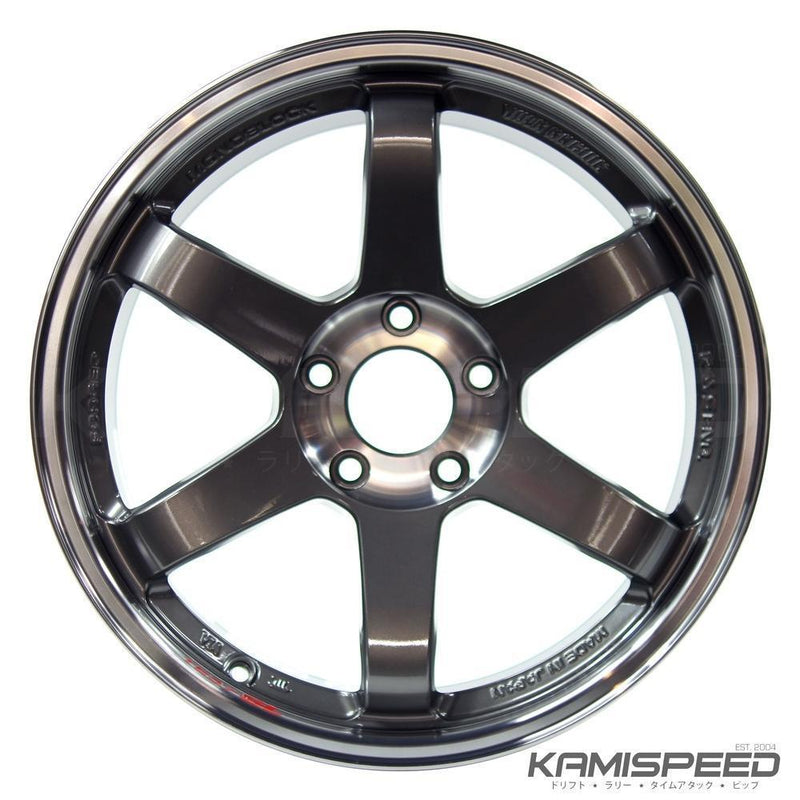 Volk Racing TE37SL 18x9.5 +35 5x114.3 - Pressed Graphite