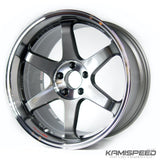 Volk Racing TE37SL 19x10.5 +12 5x114.3 Pressed Graphite