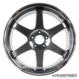 Volk Racing TE37SL 19x9.5 +22 5x114.3 Pressed Graphite