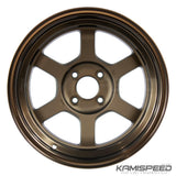 Volk Racing TE37V Bronze | 15x8 0 4x100