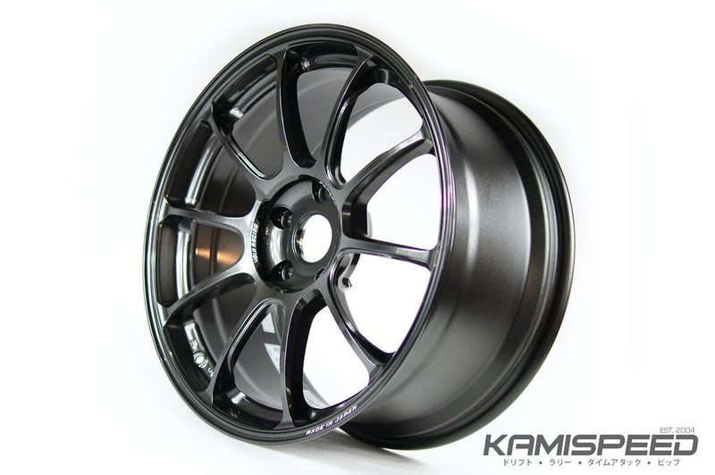 Volk Racing ZE40 18x9.5 +45 5x114.3 Diamond Dark Gunmetal
