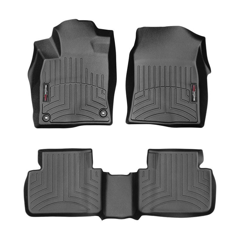 WeatherTech Black FloorLiner 17+ Civic Sedan Hatch
