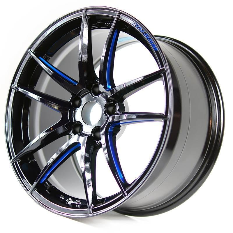 WedsSport RN-55M Wheel 18x9.0 +45 5x120 BBM (18+ Civic Type R)