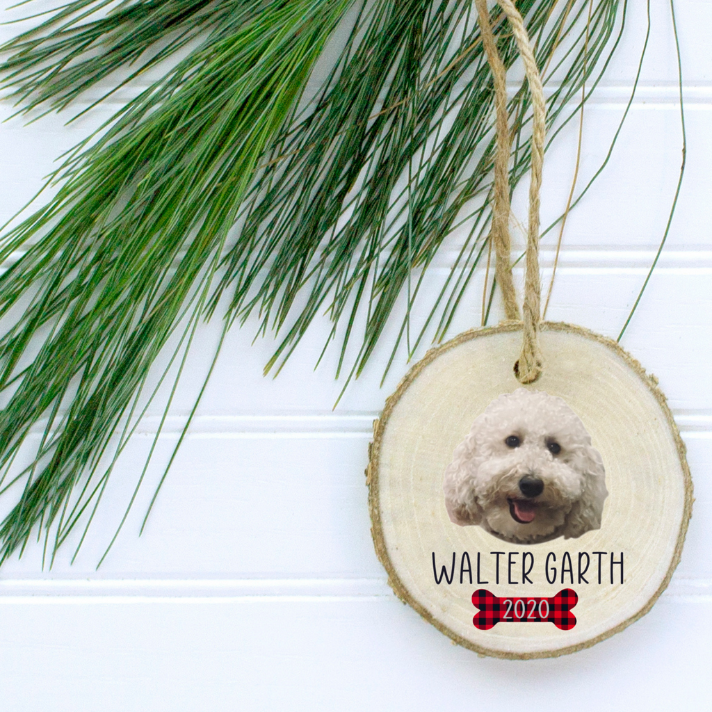 Wood Christmas Ornament - Pet Pics