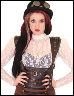 Ladies Steampunk Clothing
