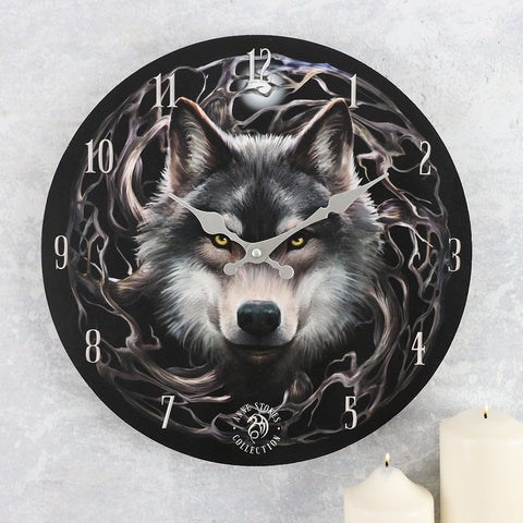 Anne Stokes Night Forest Clock