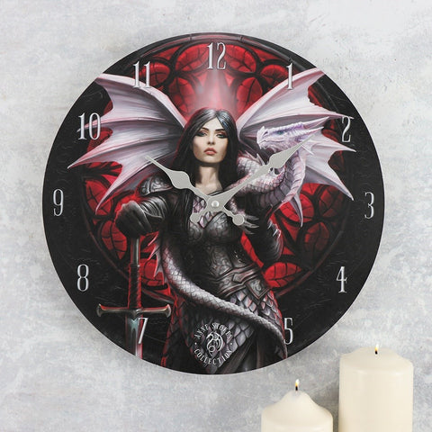 Anne Stokes Valour Wall Clock