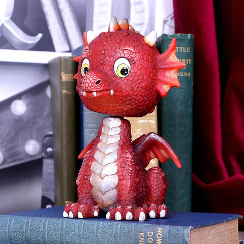 Bobflame Red Dragon Bobble Head
