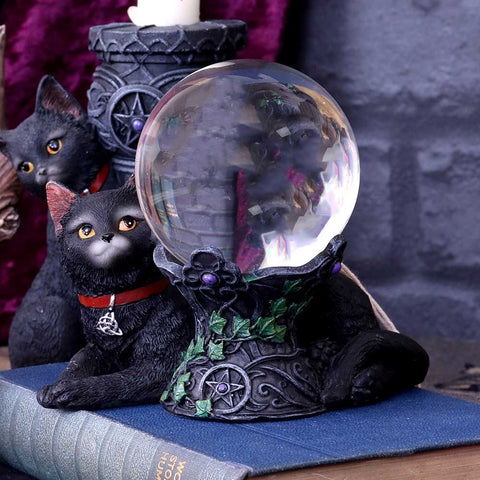 Cosmo Cat Crystal Ball Holder