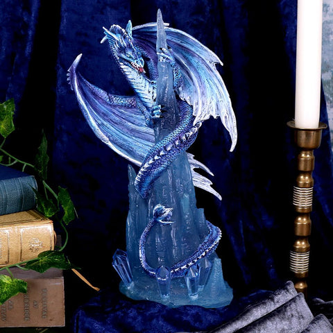 Crystal Custodian Blue Ice Dragon