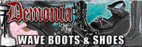Demonia Wave Boots and Shoes