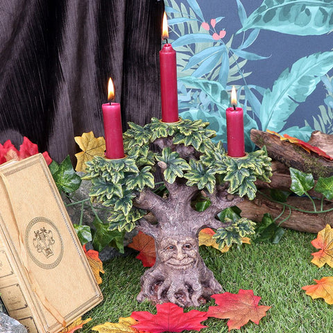 Forest Flame Candle Stick