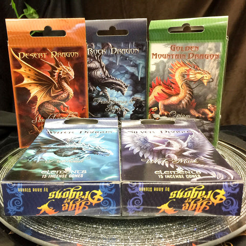 Anne Stokes Age of Dragons Incense Cones