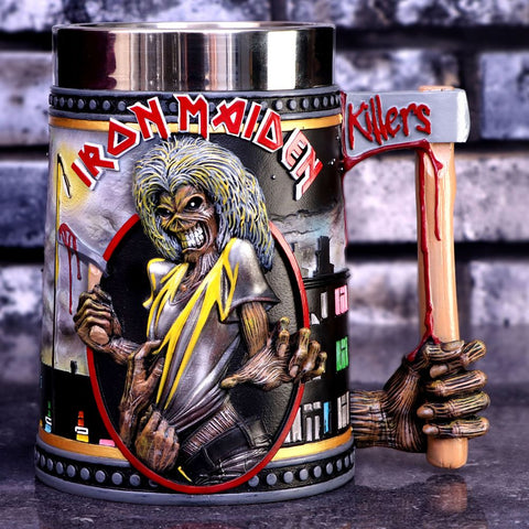 Iron Maiden The Killers Tankard
