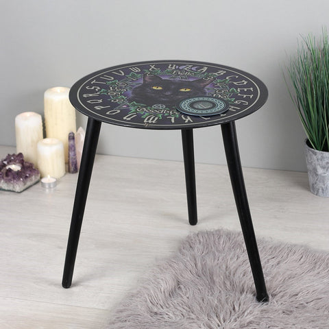 Lisa Parker The Charmed One Glass Spirit Board Table