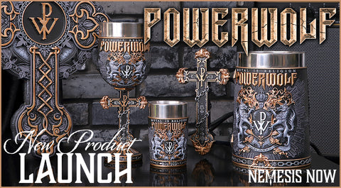 Powerwolf. Officially Licensed Powerwolf Merchandise.