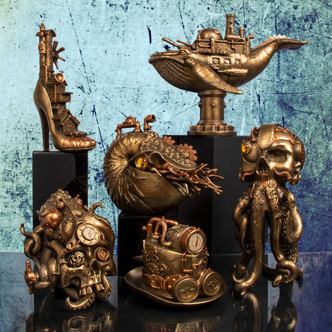 Steampunk Fantasy, Leonardo Collection