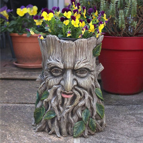 Green Man Plant Pot Large