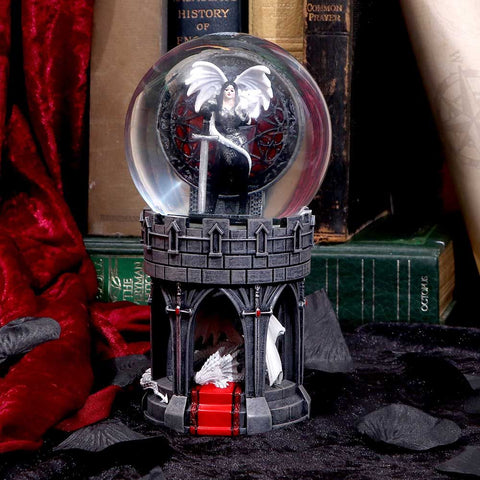 Anne Stokes Valour Snow Globe
