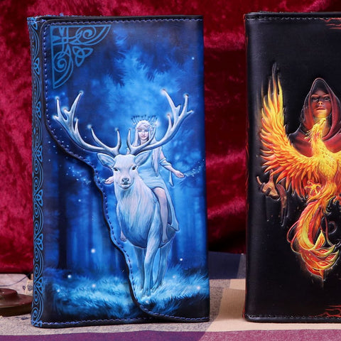 Nemesis Now Anne Stokes Fantasy Forest Embossed Purse