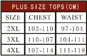 Banned Plus size Ladies Tops Size Chart