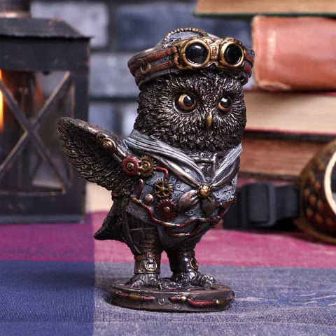 Come Fly With Me Steampunk Owl