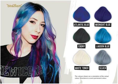 Blue Directions Hair Dye