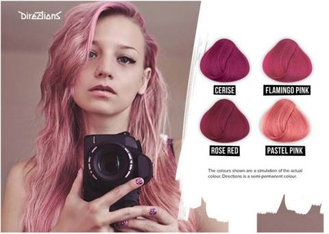 Pink Directions Hair Dye