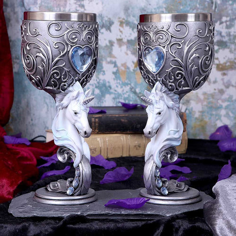 Nemesis Now Enchanted Hearts Goblets