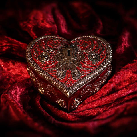 Vincent Hie Heart and Key Box
