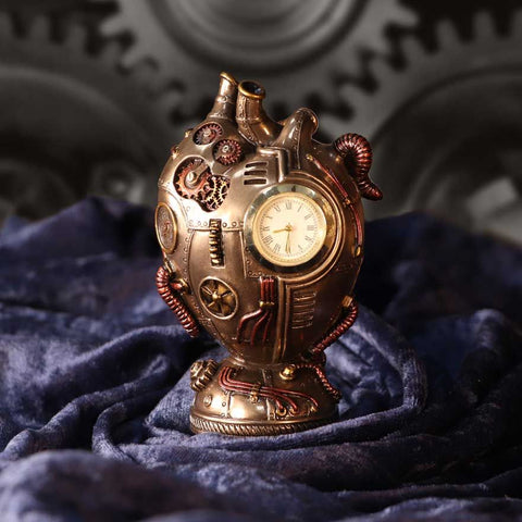 Heart Beat Steampunk Clock