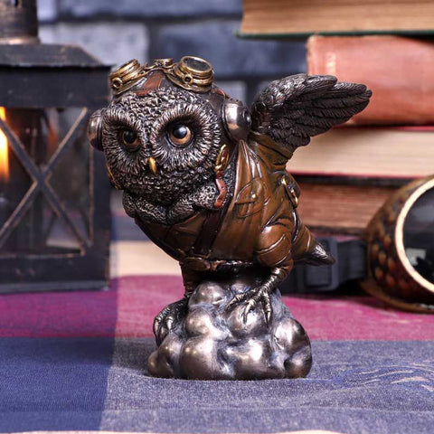 Learning to Fly Steampunk Owl