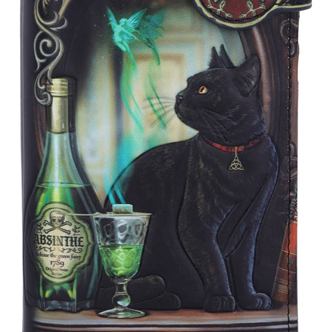 Lisa Parker Absinthe Embossed Purse
