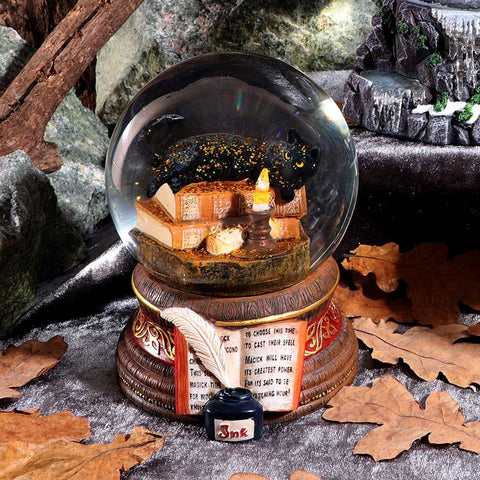 Lisa Parker Witching Hour Cat Snowglobe