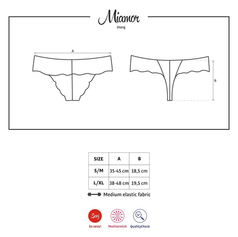 Obsessive Miamor Lace Thong