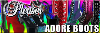 Pleaser Adore Boots and Shoes