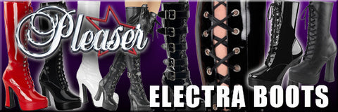 Pleaser Electra Boots