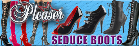 Pleaser Seduce Boots and Shoes