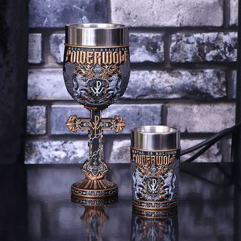Powerwolf Metal is Religion Goblet