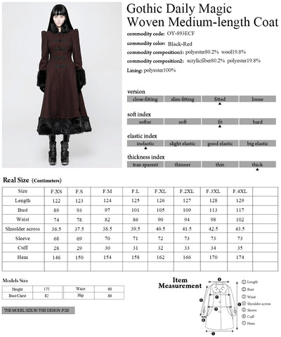 Punk Rave Lorelei Coat OY-893