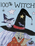 The 100 Percent Witch Card | Angel Clothing