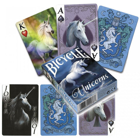 Anne Stokes Unicorns Playing Cards | Angel Clothing