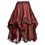 Dark Star Steampunk Skirt  Poly Silk Skirt | Angel Clothing