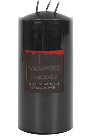 Vampire Tears Pillar Candle 15cm | Angel Clothing