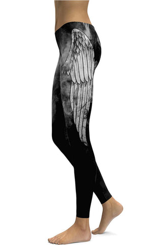 Ocultia Winged Leggings | Angel Clothing