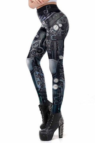 Ocultica Steampunk Leggings | Angel Clothing