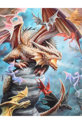 Anne Stokes Dragon Clan Picture | Angel Clothing